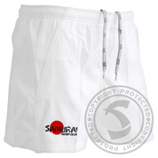 Samurai Elite Rugby Shorts - White