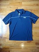 Fila - Men's Performance Polo - Blue - M