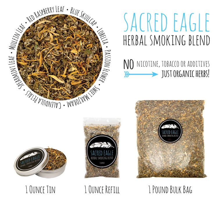 Sacred Eagle Herbal Smoking Blend