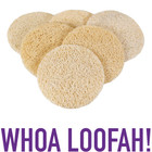 Ultra Exfoliating Loofah Rounds