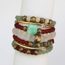 Mix|Stack|Blend|Layer|Collect  Here's your inspo for everyday wear to mix with your faves, or stack a bunch for instant pop! Are you FALLING for it? The Harmony Seeker power pack has you mixing things up! Update NOW by adding it to this seasons rotation for instant style and texture. A mix of 7 bracelets.