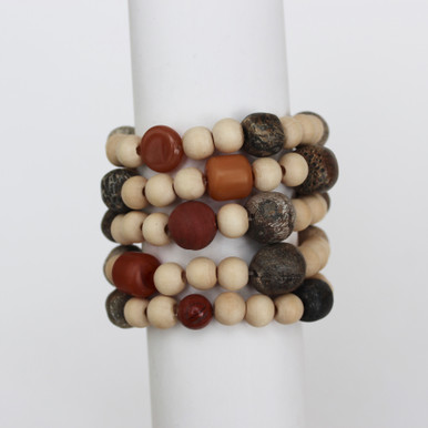Mix|Stack|Blend|Layer|Collect  Here's your inspo for everyday wear to mix with your faves, or stack a bunch for instant pop! Are you FALLING for it? The Empowerment Seeker power pack has you mixing things up! Update NOW by adding it to this seasons rotation for instant style and texture. A mix of 5 bracelets.