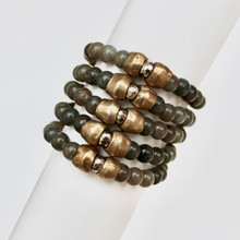 Mix Stack Blend Layer Collect  Here's your inspo for everyday wear to mix with your faves, or stack a bunch for instant pop! Are you FALLING for it? The Well-Being Seeker power pack has you mixing things up! Update NOW by adding it to this seasons rotation for instant style and texture. A mix of 5 bracelets.
