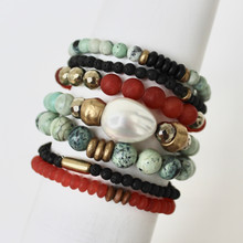 Mix Stack Blend Layer Collect  Here's your inspo for everyday wear to mix with your faves, or stack a bunch for instant pop! Are you FALLING for it? The Confidence Seeker power pack has you mixing things up! Update NOW by adding it to this seasons rotation for instant style and texture. A mix of 7 bracelets.