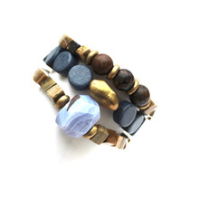 Here's your inspo for everyday wear to mix with your faves, or stack a bunch for instant pop!  Mix Stack Blend Layer Collect  Stretch Bracelet. 7 inches. Limited Quantities.