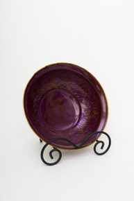 Large purple bowl