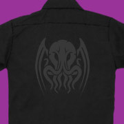 Tribal Cthulhu workshirt