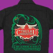 Cthulhu Absinthe work shirt