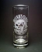 Miskatonic Cocktail Club Collins Glass