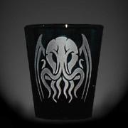 Tribal Cthulhu black shot glass