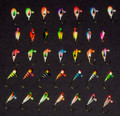 35 pc. Perch, Sunfish, Crappie Ice fishing jigs