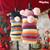 HAPPY DAY WITH YOU turtleneck sweater with POM POM SCARF ♥