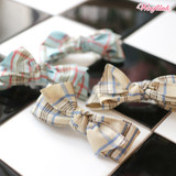 PLAID HAIRBOW