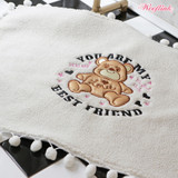 YOU ARE MY BEST FRIEND BLANKET