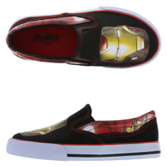 IRON MAN TWIN GORE SLIP-ON - US6/Eu38