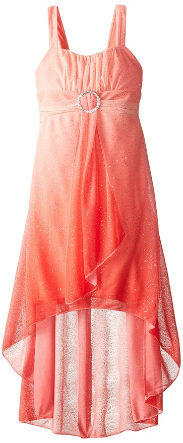 de88433056 Ruby Rox Big Girls  Sparkle Ombre Dress - ( 7 - 8 Yrs ) - JustKids