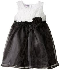 Blueberi Boulevard Little Girls' Soutach Top Dress - Girls 4- 6