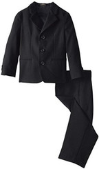 Arrow Little Boys' Black Suit ( 2-3 Yrs )