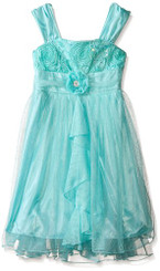 Amy Byer Girls' Sparkling Party Dress - 5/6Yrs