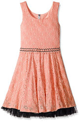 Beautees Big Girls' Skater Dress