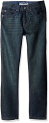 Nautica Boys Skinny Fit Jeans Dark Indigo - Toddler