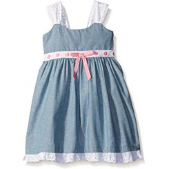 Blueberi Boulevard Baby Girl Sundress - 9/12mths