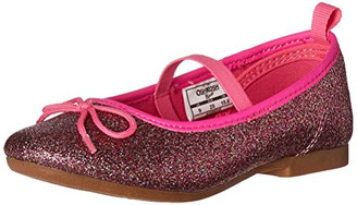 OshKosh B'Gosh Toddler Girls' Audrey Ballet Flat, Multi - Toddler
