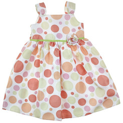 Goodlad Girls Polka Dot Dress -Toddler