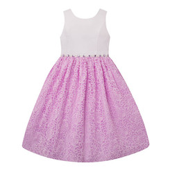 American Princess  Girls Lace Skirt Dress - Toddler