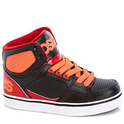 Osiris BOYS  LEATHER HIGH TOP SNEAKERS - Small Kids