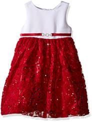 American Princess Sequin Soutache Skirt  Party Dress - 3/4Yrs