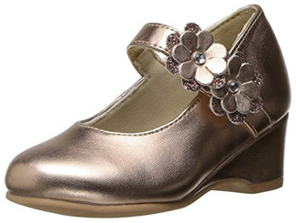 Rachel Toddler Girls Shoes Lil Chantel Wedge - Rose Gold