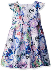 Marmellata Little Girls' Spring Summer Party Dress - 5Yrs
