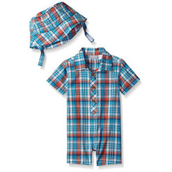 The Children's Place Baby Boys' Short Sleeve Romper