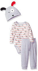 Best Beginnings Baby Boys' Bodysuit Pant Set 0/3M