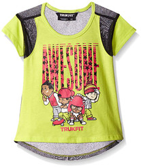 TRUKFIT Big Girls' LIL Tommy and Friends Awesome Tee - 10/12Yrs