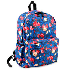 "J World New York Oz 17"" Backpack, VINTAGE ROSE"