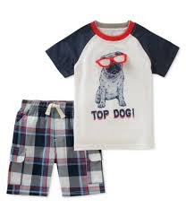 Kids Headquarters Boys' 2 Pieces Short Set - 2Yrs
