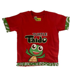 Turtle Taido Tee-Shirt - Red Multi