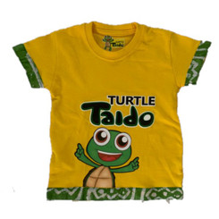 Turtle Taido Tee Shirt - Yellow Multi