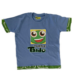 Turtle Taido Tee- Shirt - Blue Multi