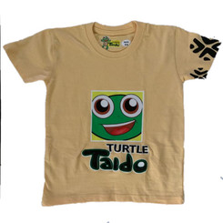 Turtle Taido Tee-Shirt - Pale Yellow