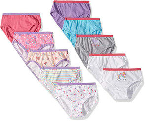 Hanes Brief Multipack, Assorted - Big Girls