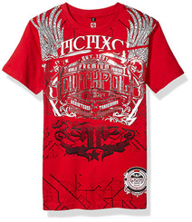 Southpole Classic Graphic Tee - Red 7/8Years
