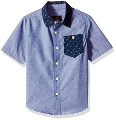 LEE  Short Sleeve Button Up Shirt - 6Years