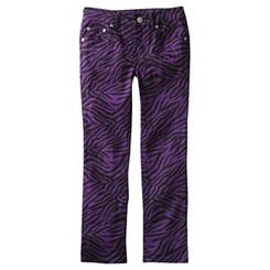 SONOMA Little Girls Life Style Zebra Skinny Jeans. Girls 4-6X
