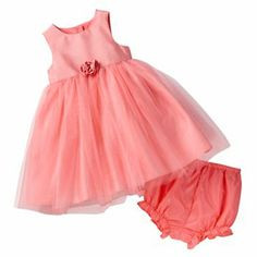 Marmellata Infant Sparkle Dress With Bloomers - 12/18M