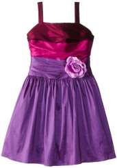 Dorissa Big Girls' Amy Taffetta Dress