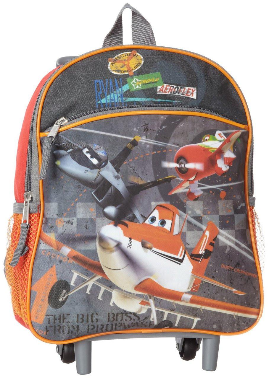 b3fa058fcfd Disney Little Boys  Planes 12-Inch Mini Rolling Backpack - JustKids