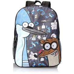 Accessory Innovations Big Boys' Regular Show Rigby and Mordecai Backpack